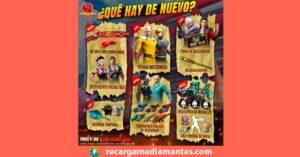 Agenda Semanal Free Fire 19/01