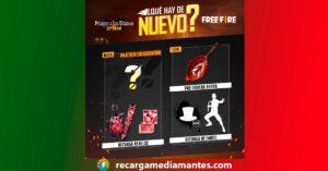 Agenda Semanal Free Fire 23/03