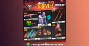 Agenda Semanal Free Fire 15/06