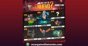 Agenda Semanal Free Fire 22/06